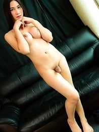 Patty is a gorgeous young tgirl with an amazing body, big round tits, a sexy bubble butt and a large uncut cock!